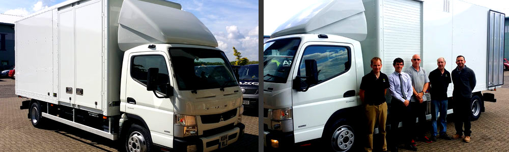 FATSO 500-10mm on Fuso 7.5t Left Hand Drive